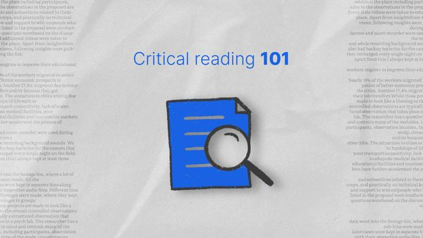 Critical Reading 101: