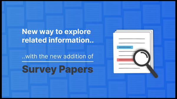 NEW: Explore related Survey Papers
